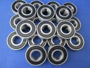 20 pièce 6001 2RS (12x28x8 mm) Roulement à bille, Roulements à billes