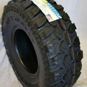 4 Tires Lt 33x12 50r15 Road Warrior Mt Radial 122 119q Mud Terrain