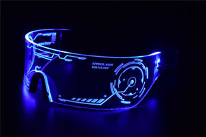 Cyberpunk-Goggles-LED-Tron-Visor-Glasses-Perfect-For-Cosplay-Festivals-Halloween