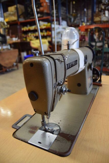 Brother Straight Stitch Industrial Sewing Machine Db40b4040 EBay Interesting Straight Stitch Sewing Machine