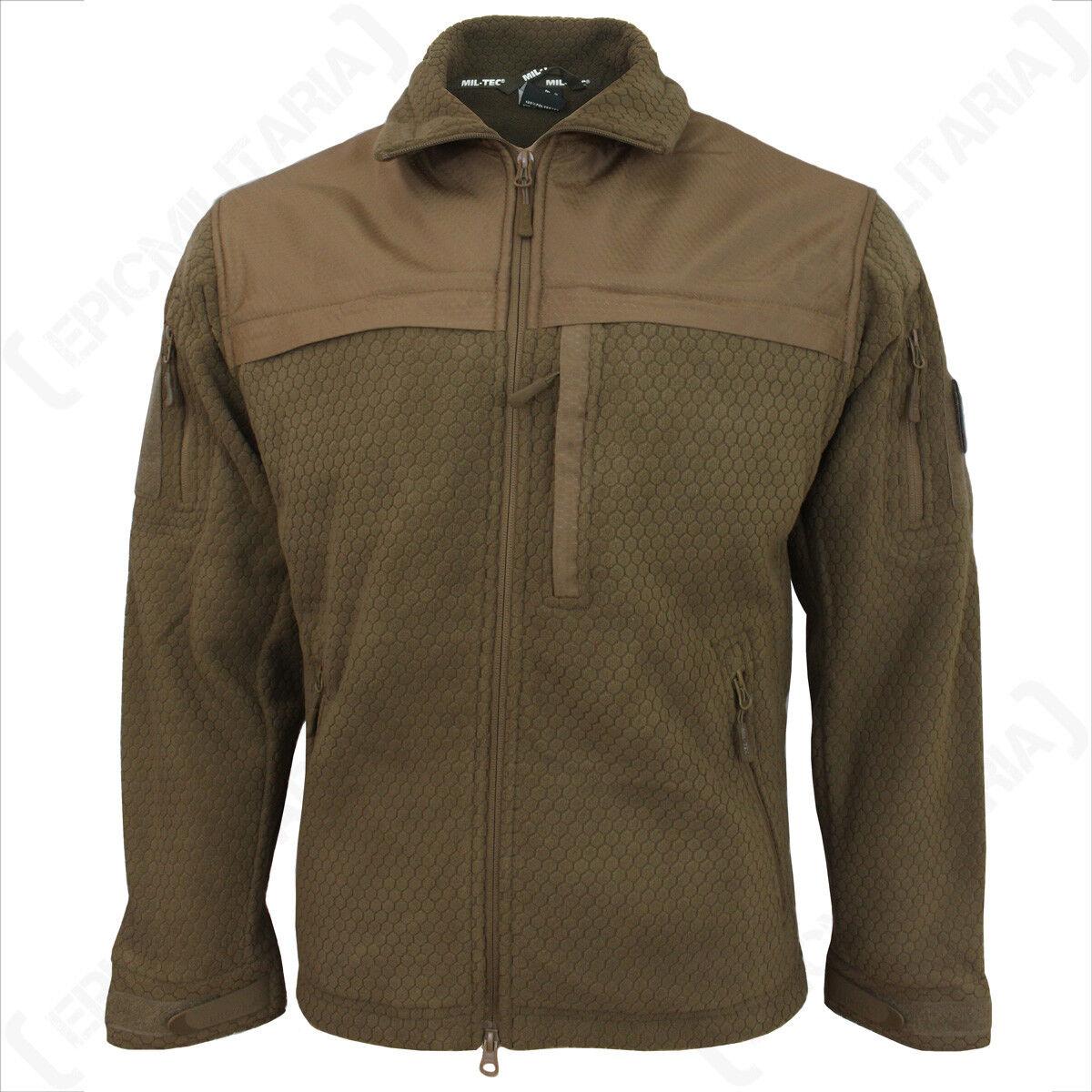 Hextac Elite Veste polaire - foncé COYOTE - manteau military hommes