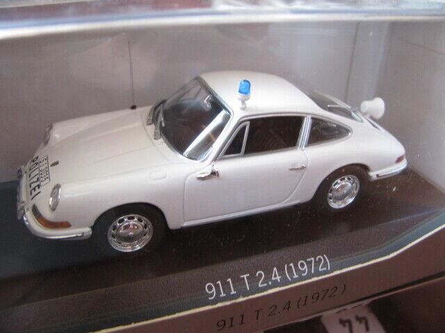 cómodamente 1 43 Minichamps PORSCHE 911 T T T 2.4 (1972) Colección de historia Diecast Coche de Policía  Mejor precio