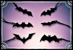 **~ Batman Symbol charms ~ cult retro geek handmade DC ~**