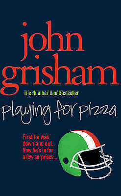 """1 of 1 - """"AS NEW"""" Playing for Pizza, Grisham, John, Book"""
