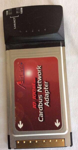 Airlink Cardbus Network Adapter Met Traditionele Methoden
