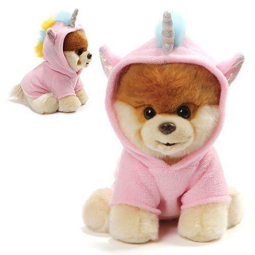 Gund Boo the Dog Boo Unicorn 9-Inch Plush Pink Unicorn Outfit