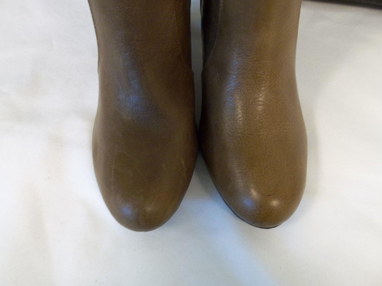 International Concepts 9 Leder M Trisha Light Braun Leder 9 Knee High New Damenschuhe Schuhes e57d93