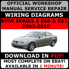 Official workshop manual service repair bmw 5 series f10 2010 2017 official workshop service repair manual for bmw series 5 e60 e61 2003 2010 fandeluxe Choice Image