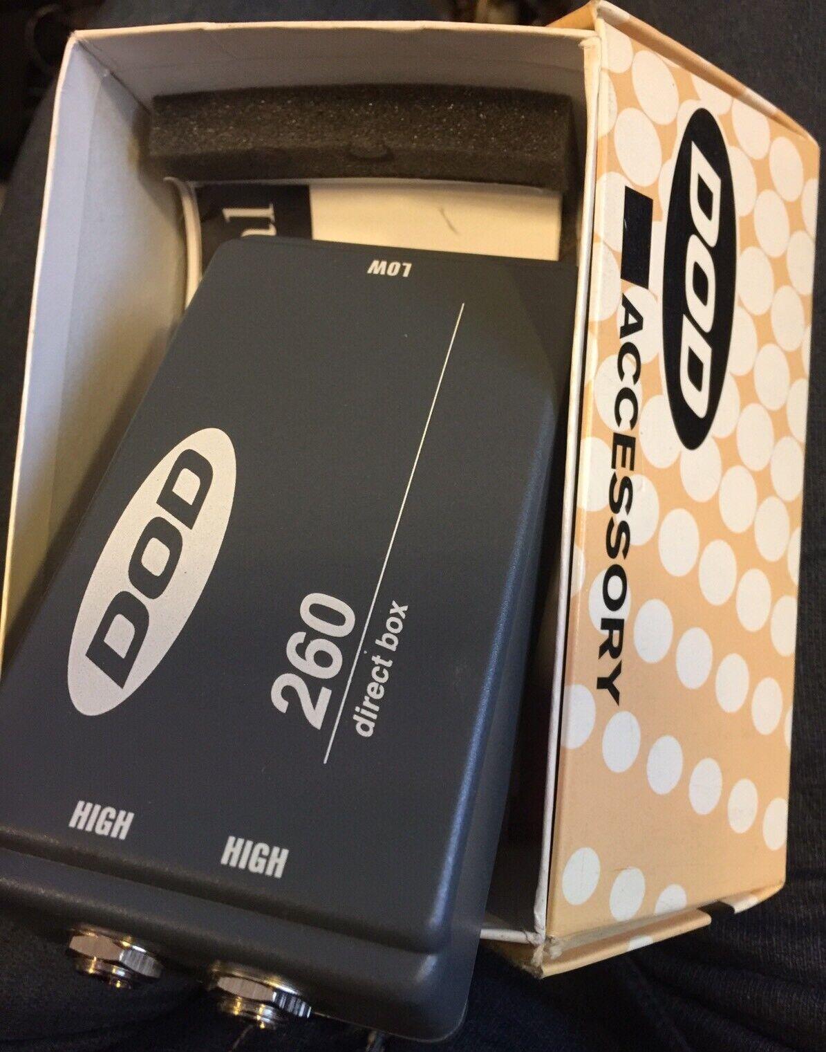 Dod 260 Direct Box Passive