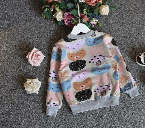 1 pc baby kids clothes girls sweater girls top  cotton pullover outerwear owl