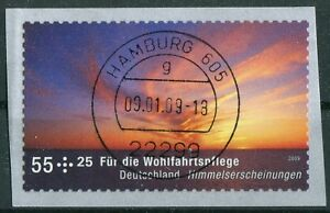 Bund-2717-gestempelt-Hamburg-Vollstempel-Selbstklebende-SK-BRD-2009-used
