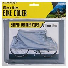 WATERPROOF BICYCLE COVER Mountain Bike Shaped Vinyl Snow Rain Cover 180cm x100cm