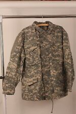 US Army ACU Digital Camouflage Gore-tex Parka Jacket Medium Regular Camo EUC