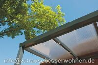 Aluminium Terrassendach Alu Terrassenüberdachung Carport Veranda 4.000x 2.500mm