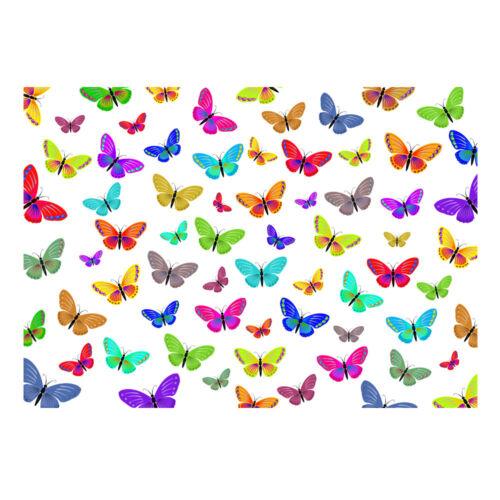 Haute Qualité multicolore papillon cadeau papier cadeau-Taille A3-GP-102