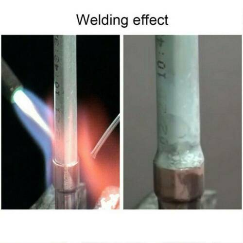 10PCS 33cm 2.0mm Solution Welding Flux-Cored Rods Aluminum Wire Brazing Tool New