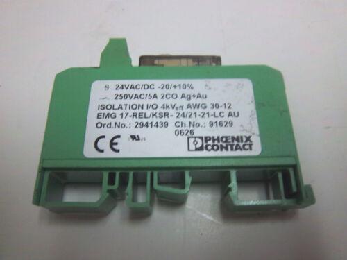 PHOENIX CONTACT EMG-17-REL//KSR 2941439 NEW EMG17RELKSR