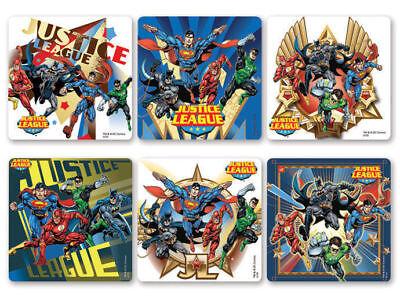12 DC Comics Superman Stickers Kid Birthday Party Goody Loot Bag Filler Favor