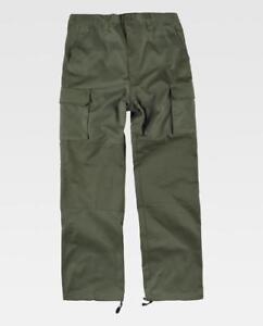 Pantalon Hombre Verde Militar Caza Pesca Senderismo Outdoor Ebay