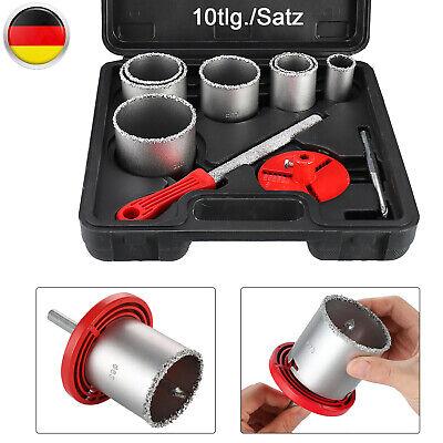 Fliese Bohrer Fliesenlochbohrer Dosenbohrer Bohrkrone Keramik Set 8 Tlg 33-83mm