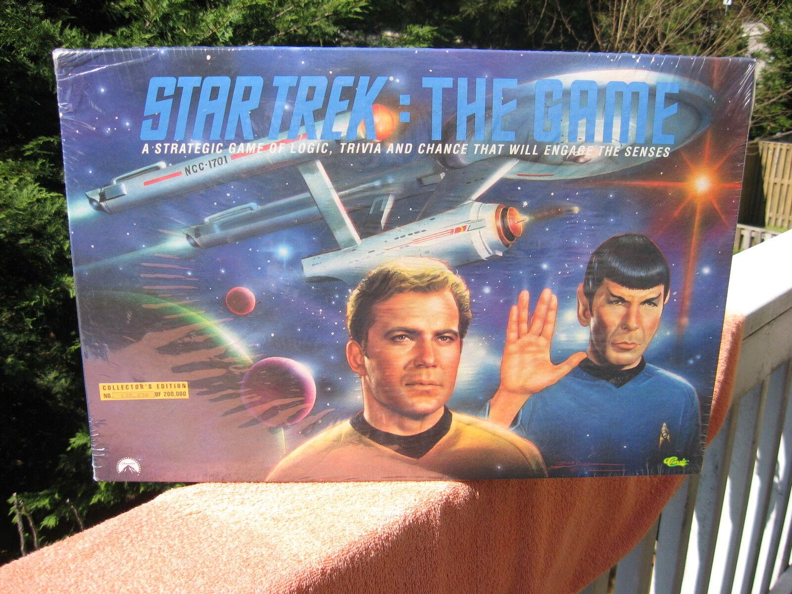 Jahrgang 1992 star trek das spiel collectors edition von classic games  versiegelt