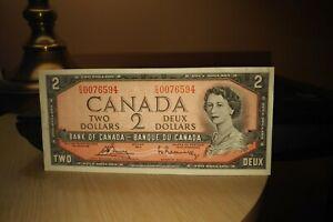 1954-2-Dollar-Bank-of-Canada-Banknote-CG0076594-Crisp