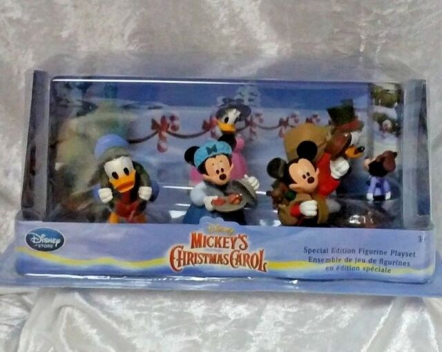 disney mickeys christmas carol figure play set 6 figures new - Mickeys Christmas Carol