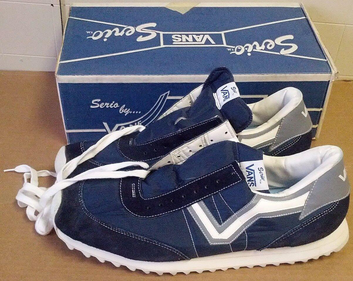 VANS Vintage Big Running V 1983 New Serio Running Big Shoes Narrow A AA AAA AAAA 15 16.5 17 739f6e