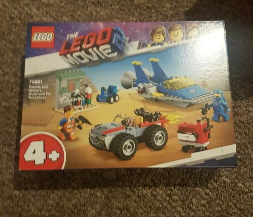 Lego 70821 Emmet and bennys build and fix workshop