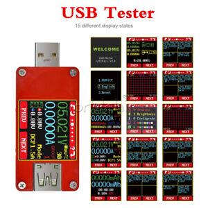 UT25-capacita-di-energia-di-Tensione-Corrente-Meter-display-LCD-a-colori-USB-tipo-C-Tester