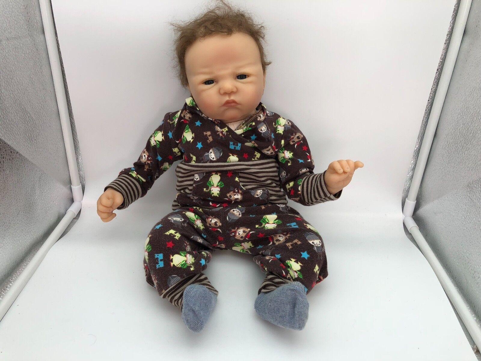 Sandy Faber ⭐️⭐️ Vinyl Puppe Puppe Puppe 47 cm. ⭐️⭐️ Top Zustand 463c6d