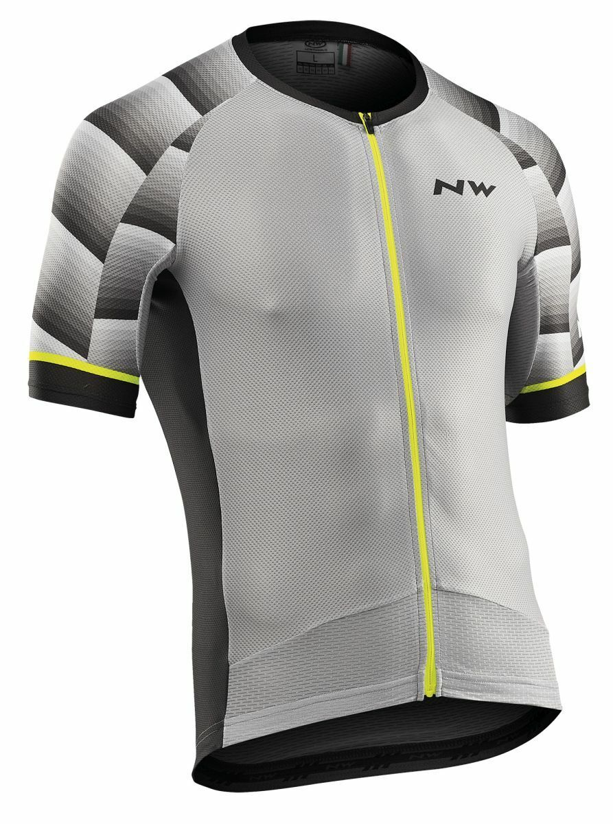 Northwave Storm Air Bicycle Jersey courte lumière gris 2019