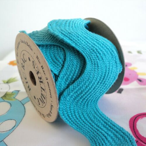 GIANT OVERSIZED RIC RAC approx 23mm RED PINk PURPLE TURQUOISE 3 METRE ROLL