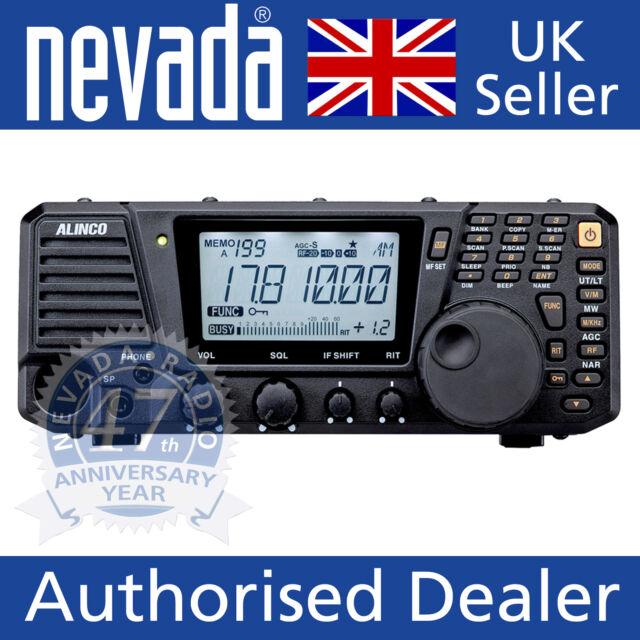 Alinco DX-R8E  - HF shortwave communications receiver - all modes