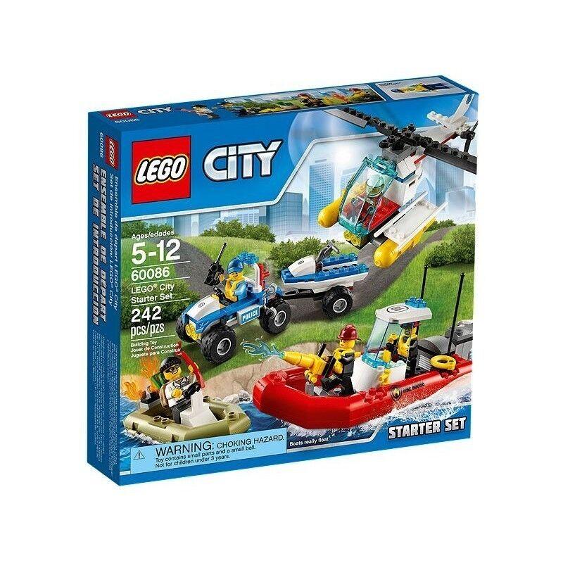Lego 60086 City - Set de introducción - NUEVO
