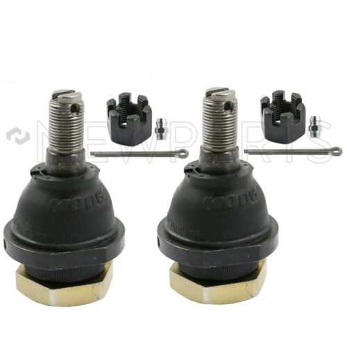 For Pair Set of 2 Front Lower Ball Joints Moog K80591 for Nissan Xterra Frontier