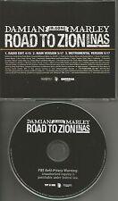 DAMIAN MARLEY Jr. & NAS Road to Zion w/RADIO EDIT & INSTRUMENTAL PROMO CD single