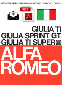 ALFA-ROMEO-GIULIA-TI-SPRINT-GT-SUPER-TI-Workshop-Manual-ITA-ENGINE-CLUTCH