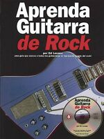 Aprenda Guitarra De Rock Sheet Music Book And Cd 014001979