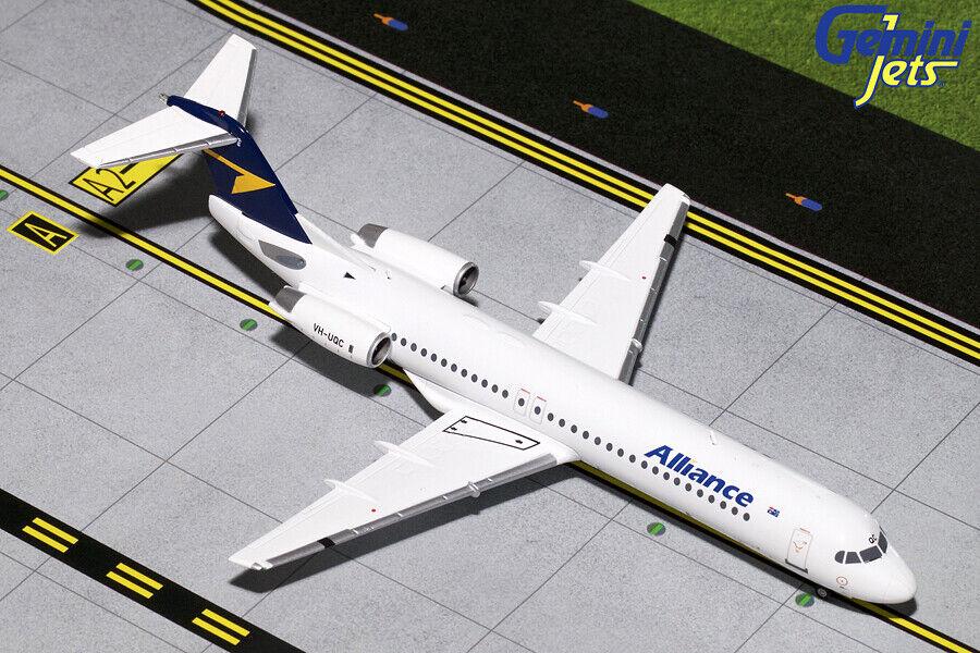 Gemini Jets 1 200 Alliance Airlines Fokker F.100 VH-UQC (G2UTY765)