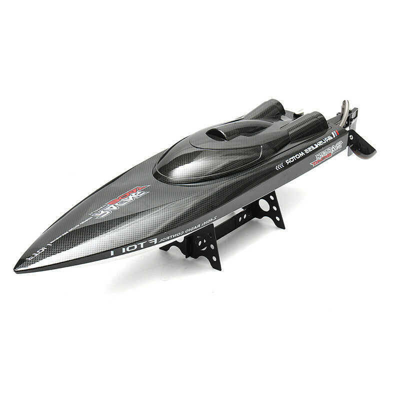 Feilun FT011  65CM 2.4G 50 km h Water Cooled Brushless Motor RC Racing Boat  Sconto del 60%