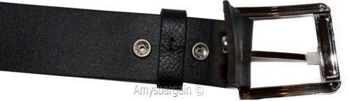 """32-50/"""" Solid Leather Belt Men/'s Black Casual Leather belt Men/'s Belt New belt"""