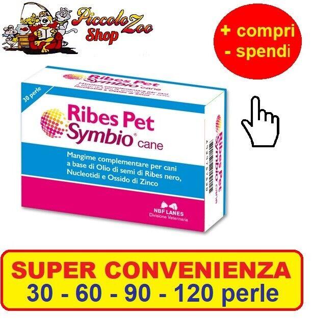 Ribes Pet Symbio cane 306090120 perle ripristino barriera cutanea,intestinale