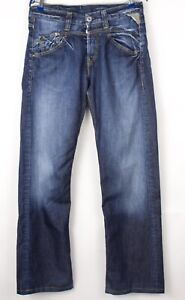 Replay Hommes Jeans Jambe Droite Taille W32 L34 BCZ198