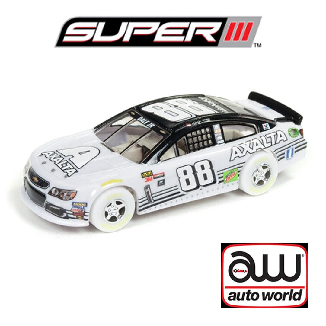 Auto World súper III Dale Earnhardt Jr  88 Axalta final homenaje coche iwheels  H