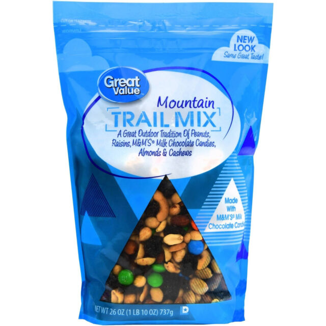 3 PACK Great Value Mountain Trail Mix, 26 oz x3 ***NEW***