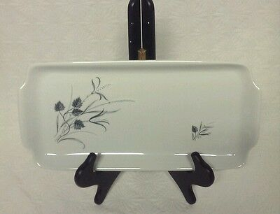 NAAMAN ISREAL PORCELAIN FLOWER SERVING TRAY