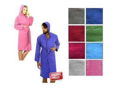 Accappatoio microfibra uomo donna unisex cappuccio e sacca microfiber bathrobeMB