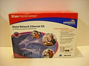 3Com homeConnect home Network EtherNet USB 10 Mbps Windows