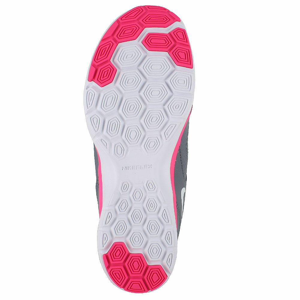 Nike Flex Trainer 5 Women's Training shoes Cool Grey Grey Grey Lava Glow Dark Grey White 376421